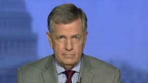 How is Brit Hume's Background?