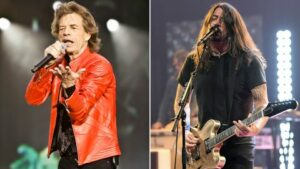 """Mick Jagger and Dave Grohl's New Anthem: """"Eazy Sleazy""""!!"""