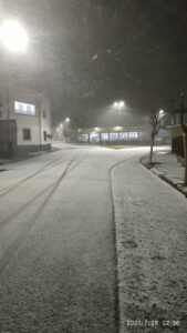 Seeing snow for the first time at 62: Brazilians revel in icy snap!
