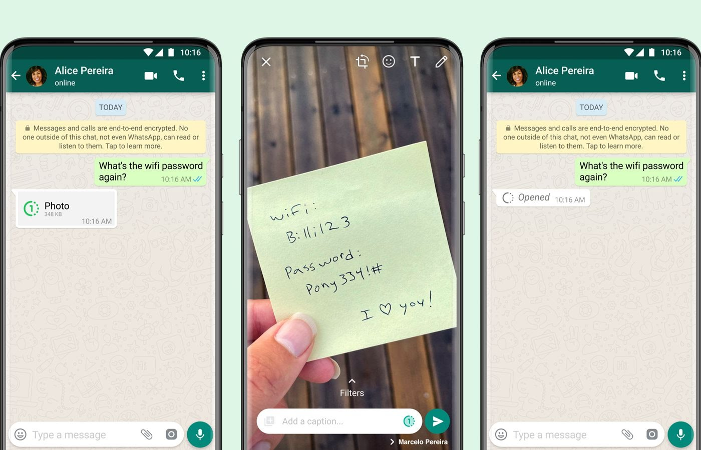 WhatsApp rolls out option for disappearing photos and videos